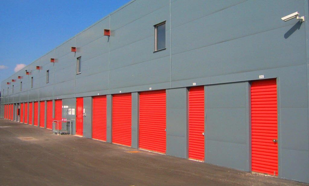 Entrepôt Annexx composé de nombreux box de stockage